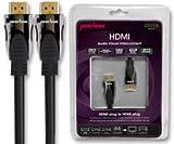 Dynamische-Eintragungsstellen PEERLESS - DE-HD05 - HDMI Kabel/Kabel, HIGH SPEED ETHERNET +, 5 M 1 Stück - - Min 3 Jahre Garantie ClevaUK