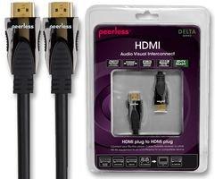 HDMI LEAD, HIGH SPEED + ETHERNET, 3M DE-HD03 By PEERLESS -