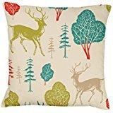 nkaylockstore-deer-winter-cushion-reindeer-sage-blue-red-gree-vv-922-linen-decorative-pillowcase-cus