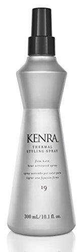 Kenra Spray coiffant Thermal Styling Spray activé par la chaleur - Thermo-protecteur - Tenue et éclat toute la journée - 295 ml (10.1 oz)