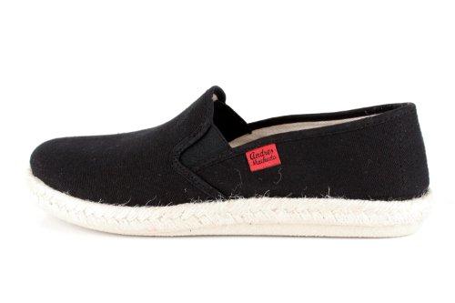 Andres Machado.AM500.Chaussures classiques, en cuir avec lacets .Grandes pointure de la 46 à la 51. LonaNoir