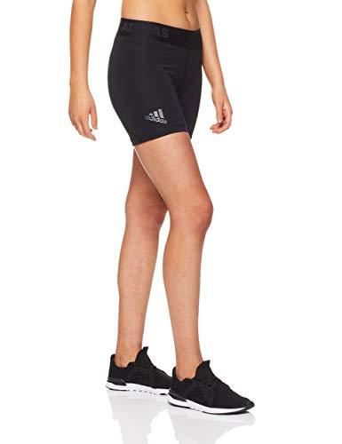adidas Damen Alphaskin Sport ST5 Tights 1/4, Black, S