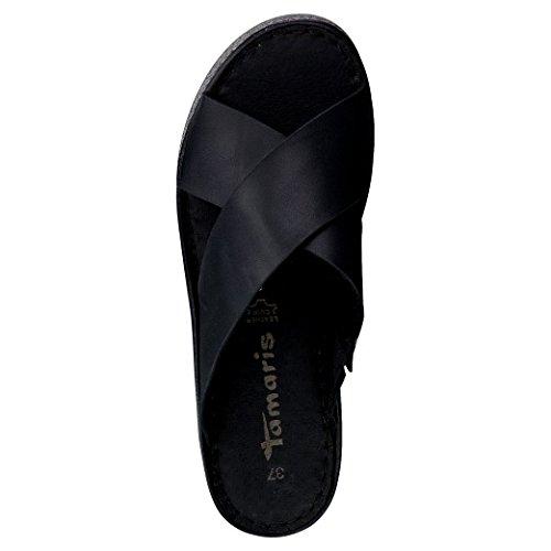 Tamaris Schuhe 1-1-27207-28 Bequeme Damen Pantolette, Sandalen, Sommerschuhe für modebewusste Frau, - 4