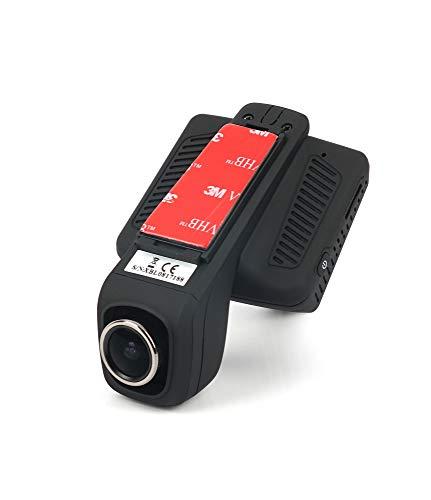 Xblitz X5 Autokamera mit WiFi, WDR, Parkmodus, G-Sensor, Sony IMX323, SpeicherkartemicroSD bis zu 128 GB, 1920 x 1080P, Bildschirm 2,45 Zoll, Blickwinkel 140°, Dash cam Schwarz