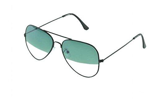 Vincent Floyd Aviator Sunglasses (Black)- (VF0020)