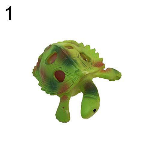 Kröte Stress abbauen Squeeze Spielzeug Angst Stressabbau Kinder Spielzeug für Erwachsene - Light Grün ()