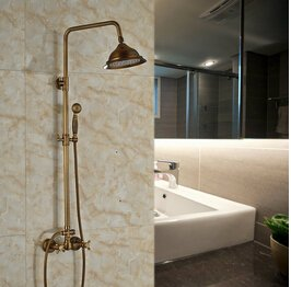 Luxurious shower Luxus Dual Griffe Surface Mount 8