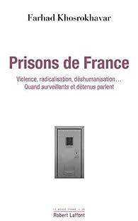 Prisons de France par Fahrad Khosrokhavar