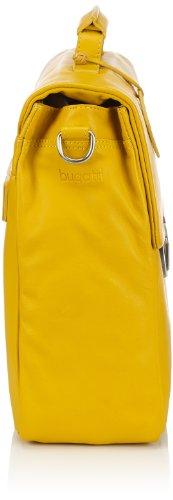 Bugatti Bags Manhattan 49111326 Unisex-Erwachsene Schultertaschen 41x31x14 cm (B x H x T) Gelb (gelb 26)