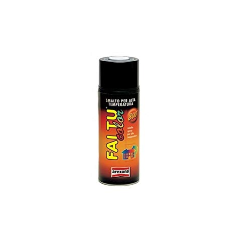 AREXONS Vernice spray nero opaco per marmitte 400ml Vespa (Marmitte Tubi Scarico e Parti) / Spray paint matt black for exhaust 400ml Vespa (Exhaust pipes and mufflers Parts)