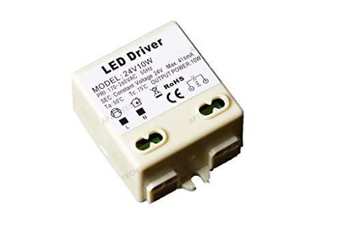 Aftertech® micro alimentatore trasformatore led 24v 10w 24volt tensione costante 220v b4c6