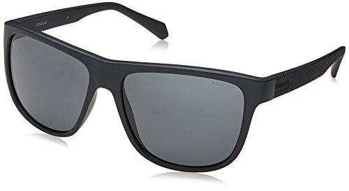 Polaroid Gradient Wayfarer Unisex Sunglasses - (PLD 2057/S 003 57M9|57|Grey Color) image