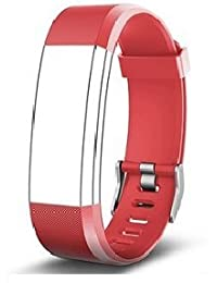 Aquaasian: ID115 Plus HR Replacement Strap Suitable For Your Style (RED, BLACK, BLUE, PURPLE, GREEN) (Red)