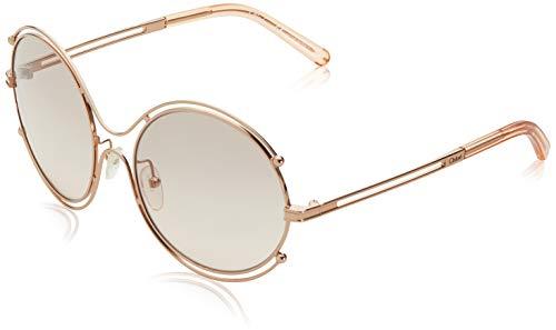 Chloè Damen CE122S 785 59 Sonnenbrille, Rose Gold-Peach