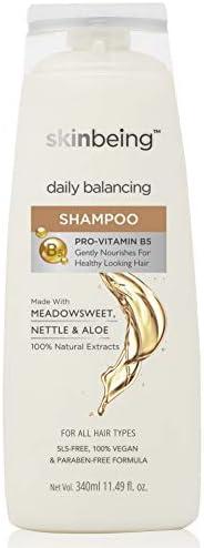 Skinbeing Daily Balancing Shampoo, 340 ml