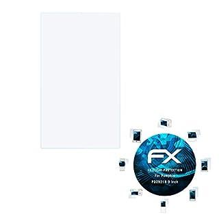 atFoliX Displayschutzfolie für Pumpkin PD0921B 9 Inch Schutzfolie - 3 x FX-Clear kristallklare Folie