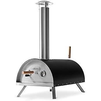 edelstahl outdoor pizzaofen nero von burnhard inkl pizzaschieber pizzastein hochwertiger. Black Bedroom Furniture Sets. Home Design Ideas