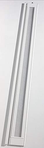 Zusatzlamelle Grosfillex Larya, 76402096, Lichtausschnitt, B 84 x H 205 cm, weiss hochglänzend