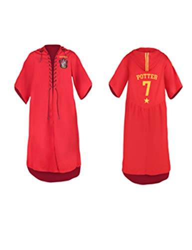 Cinereplicas Harry Potter Personalized Gryffindor Quidditch Robe Size M Mantelle