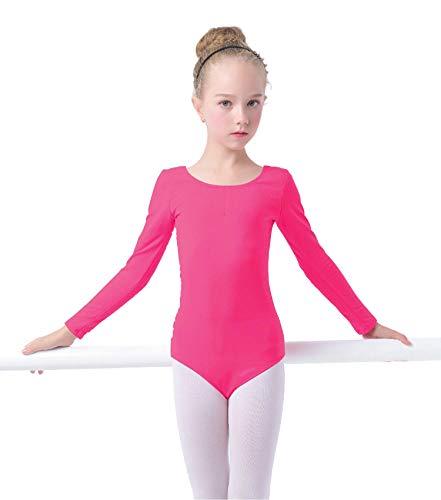 Für Kleinkind Kostüm Ballett - storeofbaby Mädchen Ballett Trikots Weiche Baumwolle Lange Ärmel Kleinkind Dancewear Kostüm