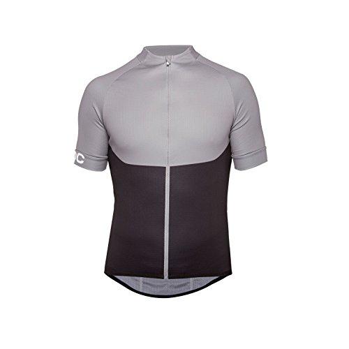 POC Herren Essential XC Zip Tee T-Shirt, Steel Grey, M -
