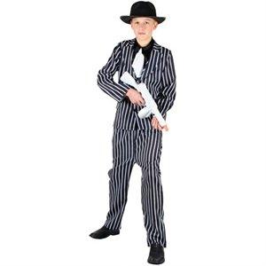 Al Capone 1920er Gangster Verkleidung Halloween Kostüm für Jungs 11-12 Jahre