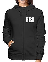 comprare on line bfeb9 7b32f Amazon.it: Felpa FBI - Felpe con cappuccio / Felpe ...