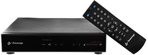 Secureye 8 Channel AHD Touch Panel SDVR ( S_AHD_8C , Black )