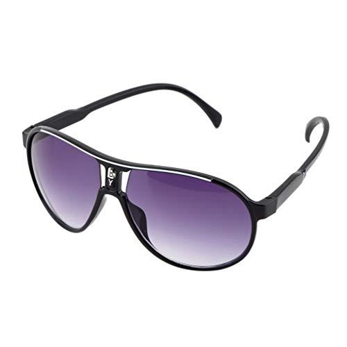 Match-brillen-brillen Herren (Nihlsen Modisches design kind cool kinder jungen m?dchen kinder kunststoffrahmen sonnenbrille brille brillen augenschutz easy match - schwarz)