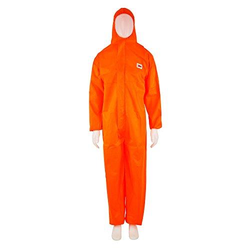 Preisvergleich Produktbild 3M 4515 Schutzanzug, Typ 5/6, Größe  L, Orange