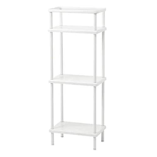 DYNAN IKEA Regal/Handtuchhalter in weiß; (40x27x108cm)