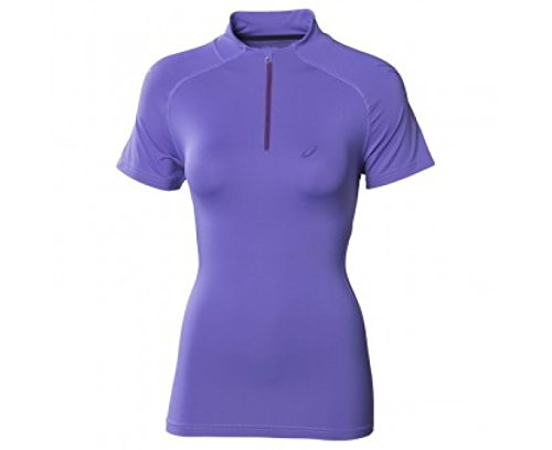 ASICS SPEED Women's Half Zip Course à Pied T-Shirt purple