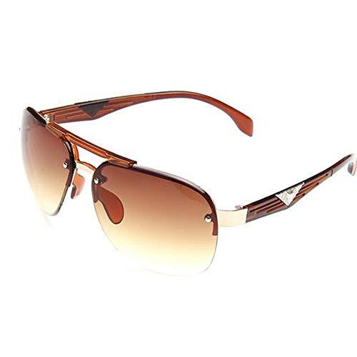 KIDYNO Sonnenbrille-Mann, der große Rahmen-Sonnenbrille-Frauen fährt