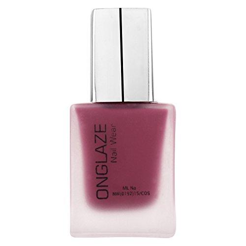ONGLAZE Magenta Purple Matte Nail Wear