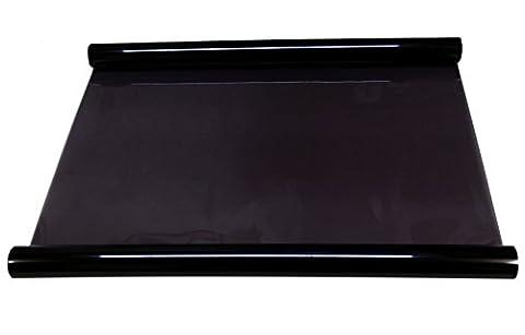Aerzetix - 5x3=15 mètres 75 cm Film solaire teinté noir LIGHT BLACK 40% pour vitre fenêtre auto voiture velux bâtiment