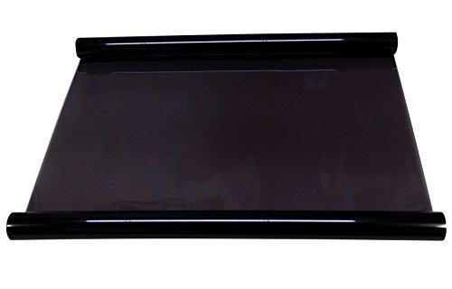 Preisvergleich Produktbild Aerzetix 5x 15m 3= 75cm schwarz getöntes Solar Film schwarz 25% für Velux Fenster Glas, Auto, Bau