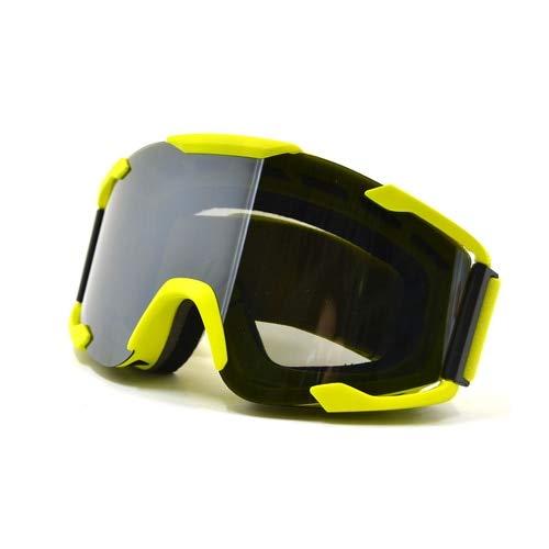 luoshui Motocross Goggles Glasses Cycling Eye Ware MX Off Road Helmen Goggles Sport Gafas für Motorcycle Dirt Bike Racing Google (Google Gafas)