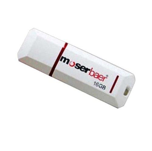 Moserbaer USB Drives 16GB Knight 16 GB USB 2.0 Pen Drive