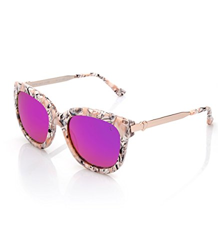 2f62721cd3 Starlite Shop Gafas de Sol Summer Valeria Mazza, Mujer, Acetato/Metal 54