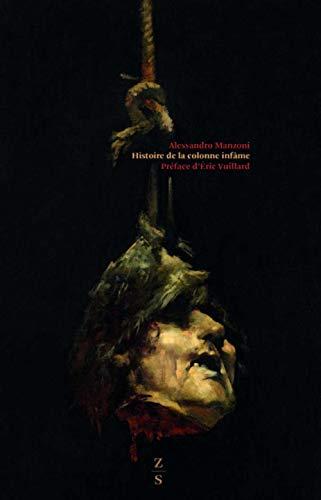 Histoire de la colonne infâme par Alessandro Manzoni