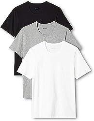BOSS Herren RN 3P CO T-shirt, 3er Pack, Mehrfarbig 999, Medium