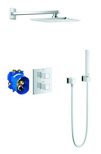 Preisvergleich Produktbild GROHE Cube | Brause- und Duschsysteme - Duschsystem | Komplettset mit Kopfbrause | 34506000