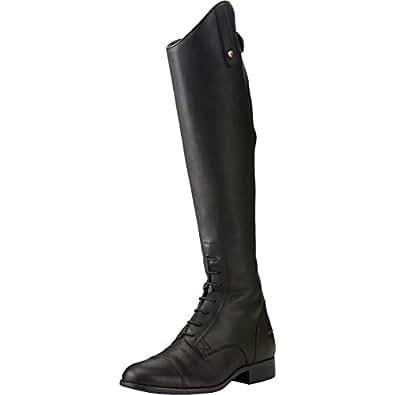 76635f693 Ariat Mens Heritage Compass H2O Long Boot 8 Slim Calf Short Height Black