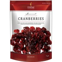 Rostaa Cranberries Slices Standup Pouch, 75g