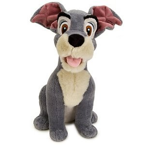 ic, Lady and the Tramp's Tramp Plush Soft Doll Toy -- 13'' H ()