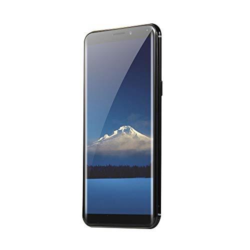 Oasics Smartphone, Neue Art und Weise 5,72 Zoll Viererkabel-Kern-Doppel-HD Kamera Smartphone Androides IPS-GESAMTER Schirm G/M WCDMA 4GB WiFi BT GPS 3G Anruf-Handy (Schwarz)