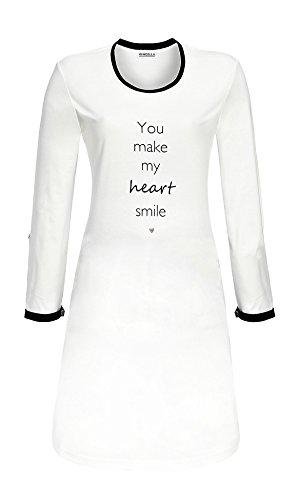 Ringella Damen Bigshirt 6411005 Off-White