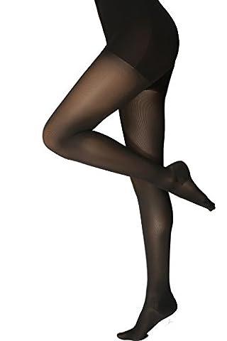 ®BeFit24 Abgestufte medizinische Kompressionsstrumpfhose (23-32 mmHg, 120 Den, Klasse 2) für Damen– Hervorragend geeignete Stützstrumpfhose gegen Krampfadern, Reisethrombose, Ödeme und angeschwollene Beine - Compression Tights -