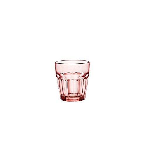 BORMIOLI ROCCO Set Set 6 Calices Roches Rockbar Lunettes Cl27 Roses Et Des Verres À Vin