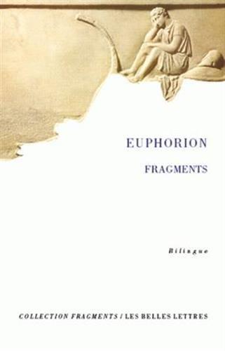 Œuvre poétique et autres Fragments